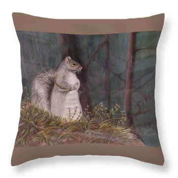 Some Nutty Guy Throw Pillow
