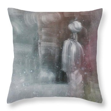 Some People Live Very Tired Throw Pillow