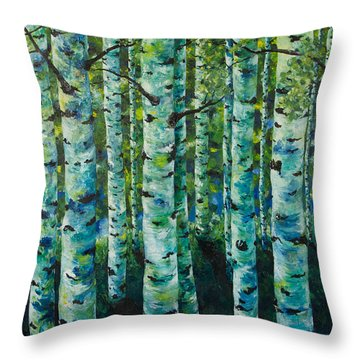 Some Summer Shade Throw Pillow