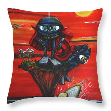 Some Things In Life Do Not Go As Planned Throw Pillow