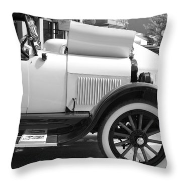 Some Time Ago Throw Pillow