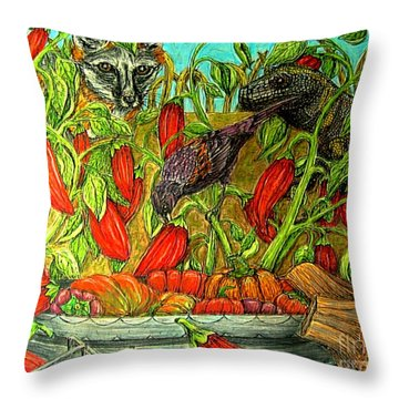 Somebodys Lucky Day Throw Pillow