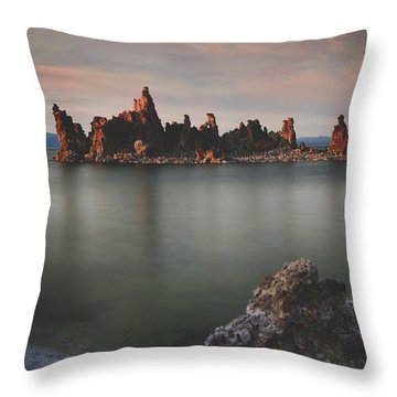 Someday I'll Be Fine Throw Pillow