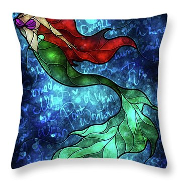 Someday Throw Pillow