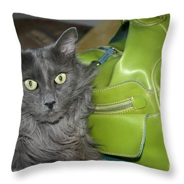 Someone Say Green? Throw Pillow