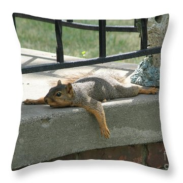 Someone There Throw Pillow