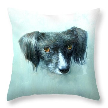 Someones Pet Throw Pillow