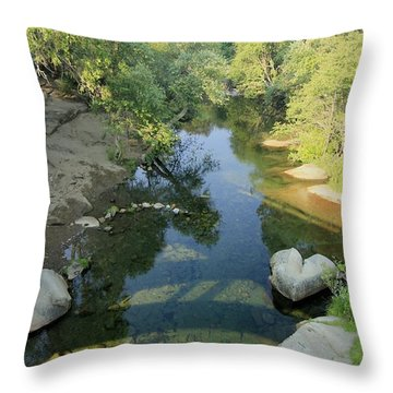 Throw Pillow featuring the photograph Somerset Cosumnes by Sean Sarsfield