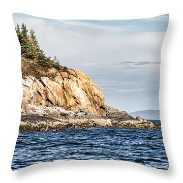 Throw Pillow featuring the photograph Somes Sound by Anthony Baatz