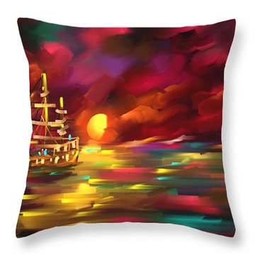 Something Else Throw Pillow
