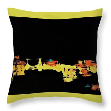 Something Simple Not Yet Understood Throw Pillow