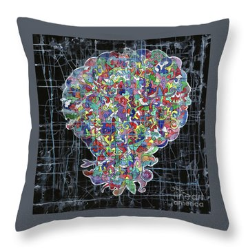Something Strange Throw Pillow