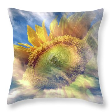 Something Summery Throw Pillow