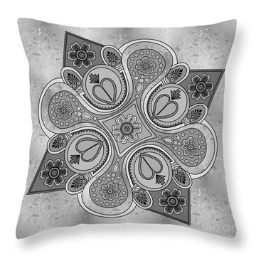 Something2 Throw Pillow