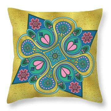 Something3 Throw Pillow by Megan Dirsa-DuBois