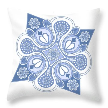 Something4 Throw Pillow by Megan Dirsa-DuBois