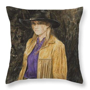 Sometime Ago Throw Pillow