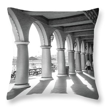 Throw Pillow featuring the photograph Sometimes The Party Is Over by Lora Lee Chapman