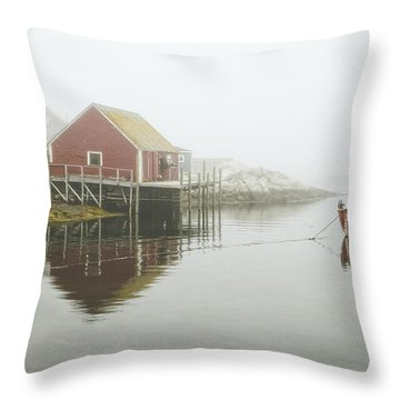 Sometimes We Need To Say Goodbye  Throw Pillow