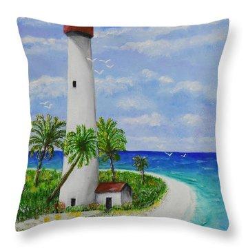 Somewhere Beautiful Throw Pillow