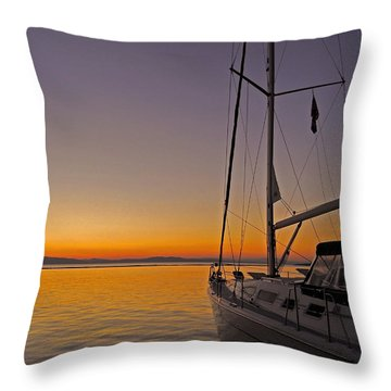 Somewhere Beyond The Sea ... Throw Pillow