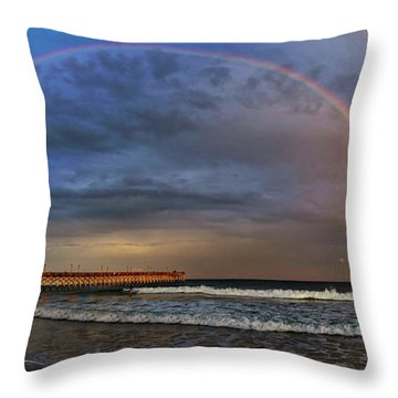 Throw Pillow featuring the photograph Somewhere... by DJA Images