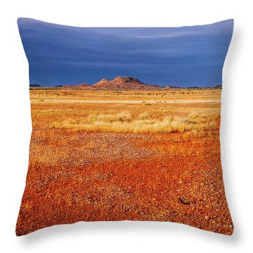 Somewhere In The Outback, Central Australia Throw Pillow