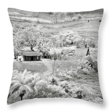 Somewhere In Vinales Throw Pillow by Eduard Moldoveanu