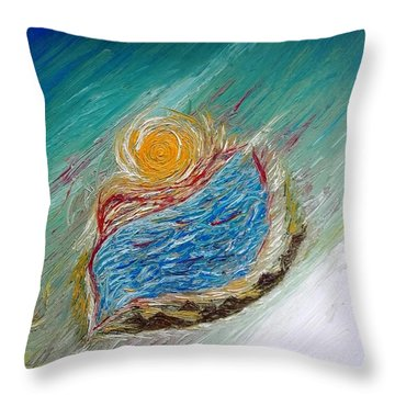 Somewhere There Is A Wonderful World ... Throw Pillow