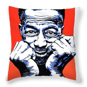 Son House. Throw Pillow