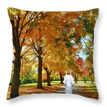 Son Of God Throw Pillow