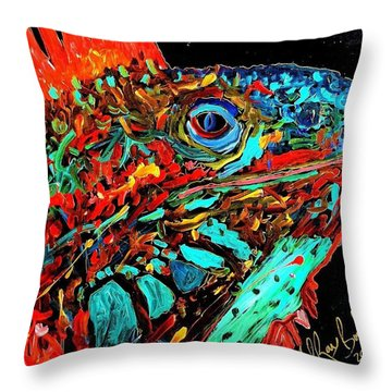 Son Of Iggy Throw Pillow