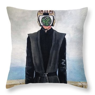 Son Of Sith Throw Pillow by Tom Carlton