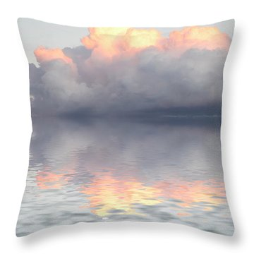 Son Of Zeus Throw Pillow by Jerry McElroy
