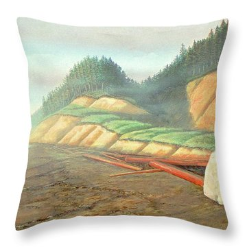 Song For My Brother Throw Pillow by Laurie Stewart