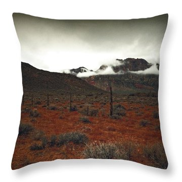 Throw Pillow featuring the photograph Song by Mark Ross