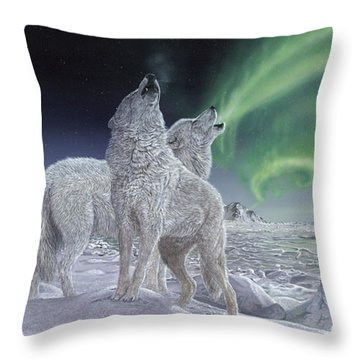 Song Of Ice Throw Pillow