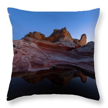 Throw Pillow featuring the photograph Song Of The Desert by Dustin LeFevre