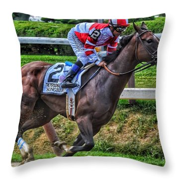 Songbird W Mike Smith Throw Pillow