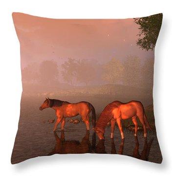 Songs Of Kentucky Throw Pillow