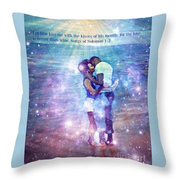 Songs Of Solomon Throw Pillow by Vannetta Ferguson