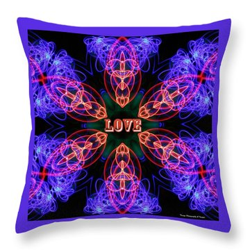 Sonic Love Throw Pillow