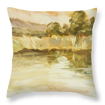 Sonoma Pond Ca Throw Pillow