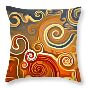 Sonora Sunrise  Throw Pillow