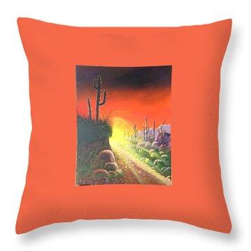 Sonora Sunrise Throw Pillow