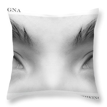 Son's Eyes Throw Pillow by James BO  Insogna