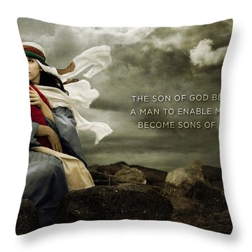 Sons Of God Throw Pillow