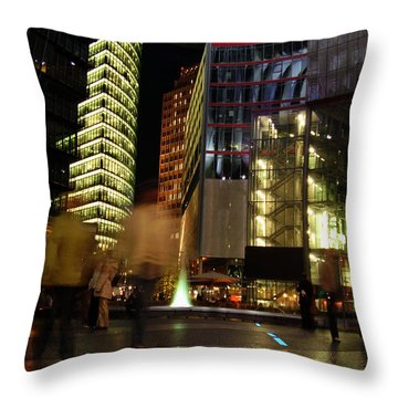 Sony Center Throw Pillow by Flavia Westerwelle