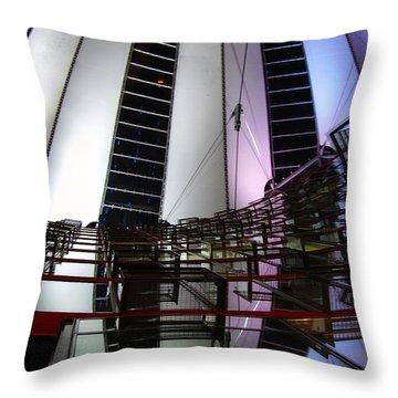 Sony Center II Throw Pillow