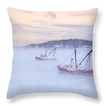 Soon As The Morning Comes Throw Pillow
